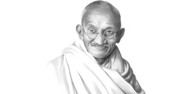 「握り拳と握手はできない。」ガンジーの名言