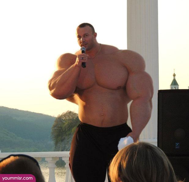 えぇ~と、僕は…「筋肉」