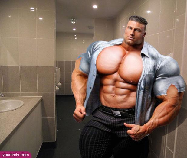 モデルで「筋肉」