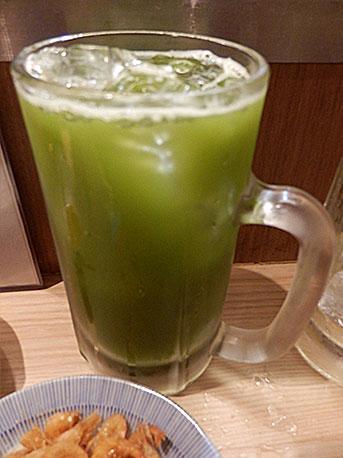 緑茶ハイ(290円)