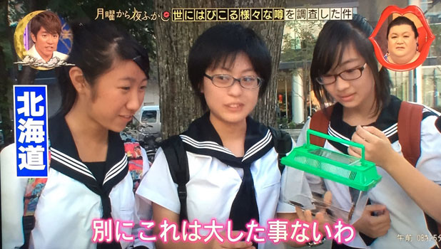 「別にこれは大したことないわ」と北海道民