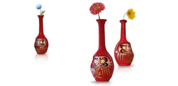 花瓶だるま