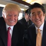 ランプ大統領と安倍首相に「品格のない顔。よく似た二人。」と参議院議員がツイート
